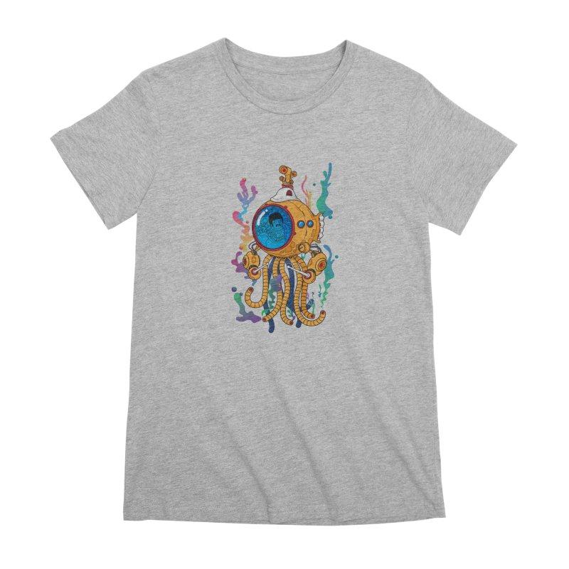 Octopus's Garden Women's Premium T-Shirt by Pepe Rodríguez