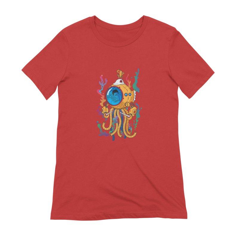 Octopus's Garden Women's Extra Soft T-Shirt by Pepe Rodríguez