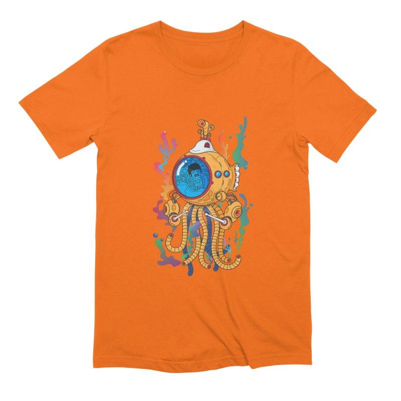Octopus's Garden Men's Extra Soft T-Shirt by Pepe Rodríguez