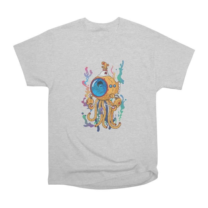 Octopus's Garden Men's Heavyweight T-Shirt by Pepe Rodríguez