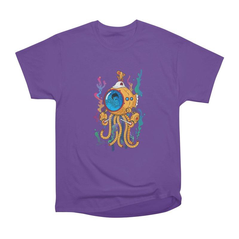 Octopus's Garden Men's Heavyweight T-Shirt by Pepe Rodríguez