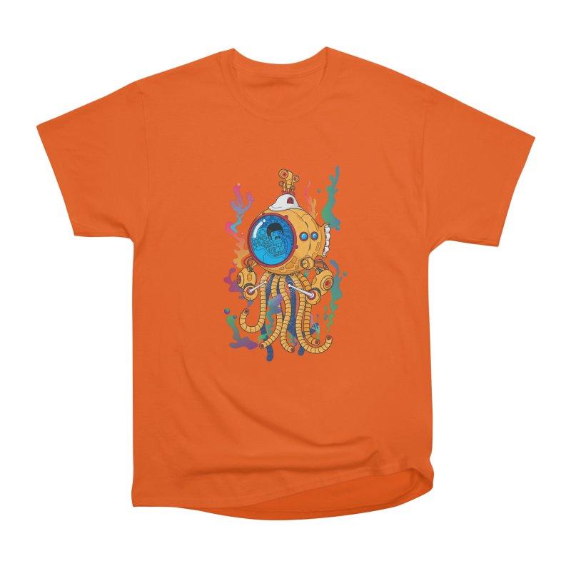 Octopus's Garden Women's Heavyweight Unisex T-Shirt by Pepe Rodríguez