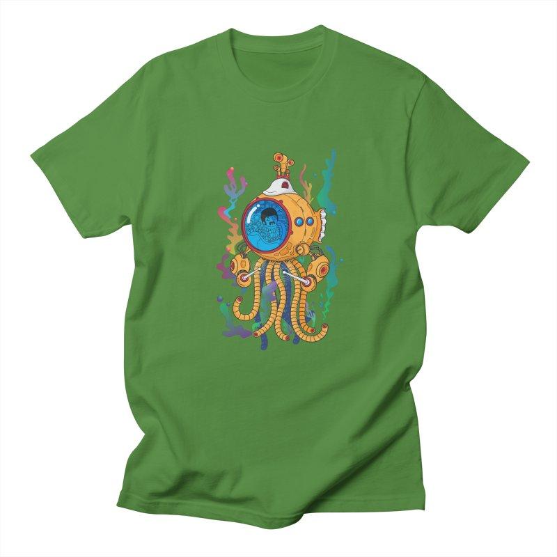 Octopus's Garden Women's Regular Unisex T-Shirt by Pepe Rodríguez