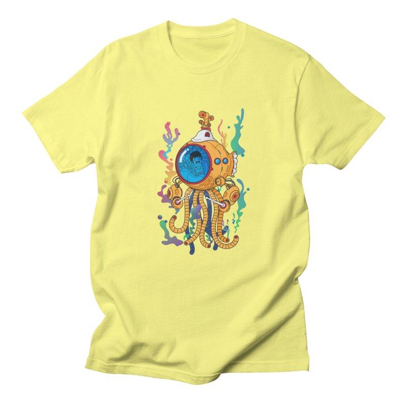 Octopus's Garden Men's Regular T-Shirt by Pepe Rodríguez