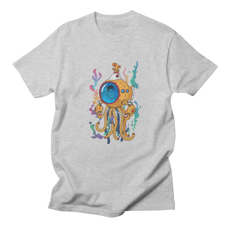 Octopus's Garden Men's Regular T-Shirt by Pepe Rodríguez