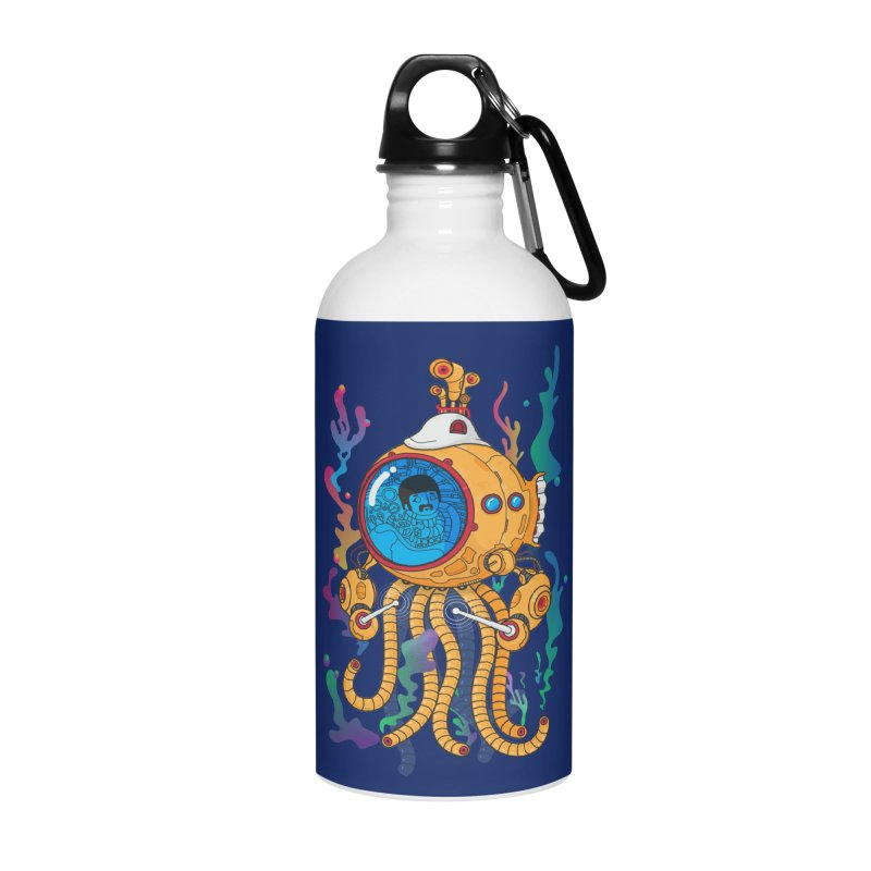 Octopus's Garden Accessories Water Bottle by Pepe Rodríguez