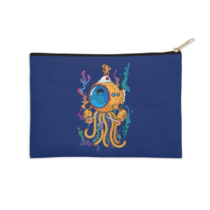 Octopus's Garden Accessories Zip Pouch by Pepe Rodríguez