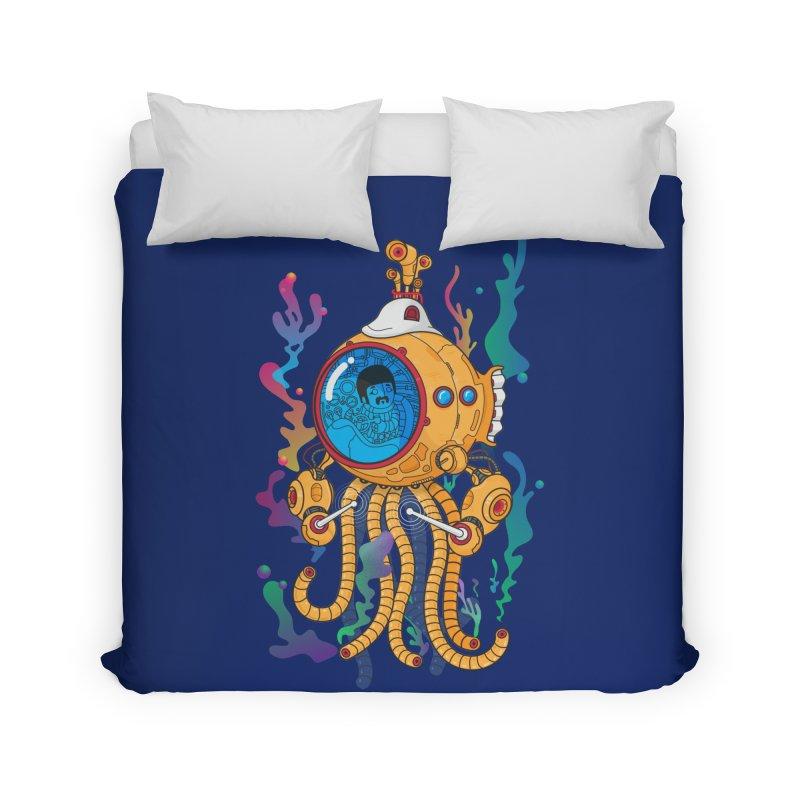 Octopus's Garden Home Duvet by Pepe Rodríguez