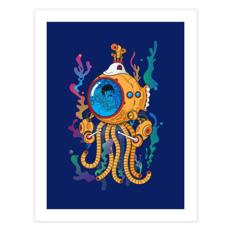Octopus's Garden Home Fine Art Print by Pepe Rodríguez
