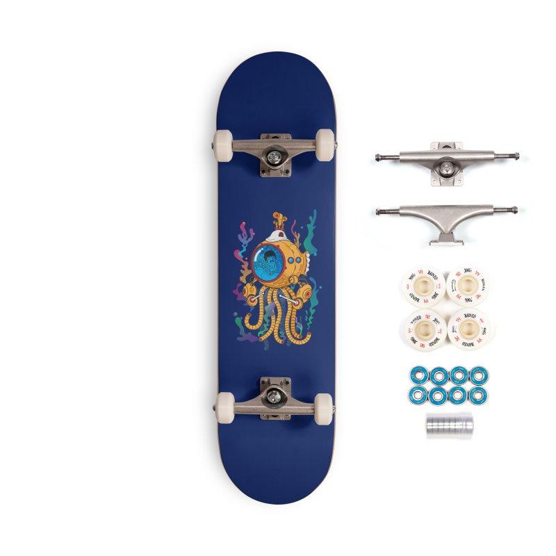 Octopus's Garden Accessories Complete - Premium Skateboard by Pepe Rodríguez