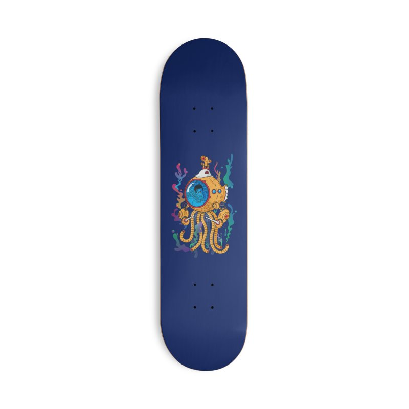 Octopus's Garden Accessories Deck Only Skateboard by Pepe Rodríguez