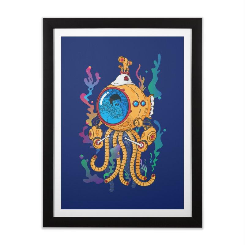 Octopus's Garden Home Framed Fine Art Print by Pepe Rodríguez