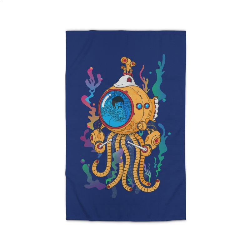 Octopus's Garden Home Rug by Pepe Rodríguez