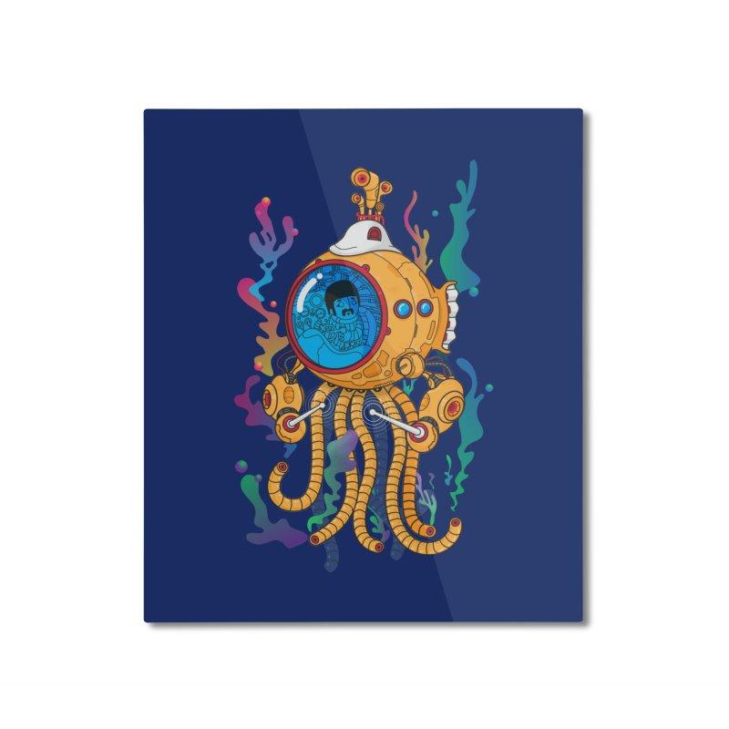 Octopus's Garden Home Mounted Aluminum Print by Pepe Rodríguez