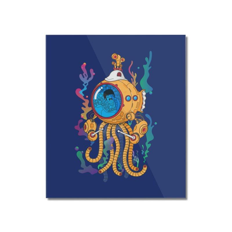 Octopus's Garden Home Mounted Acrylic Print by Pepe Rodríguez