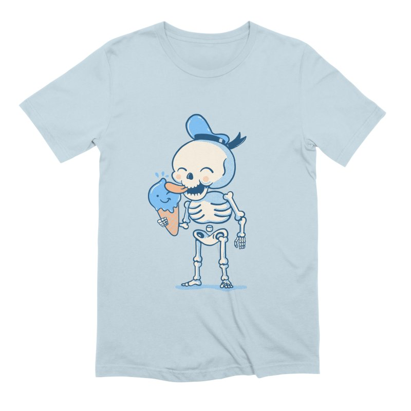 Summer Vibes in Men's Extra Soft T-Shirt Baby Blue by Pepe Rodríguez