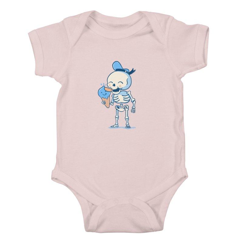 Summer Vibes Kids Baby Bodysuit by Pepe Rodríguez