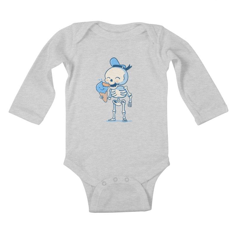 Summer Vibes Kids Baby Longsleeve Bodysuit by Pepe Rodríguez