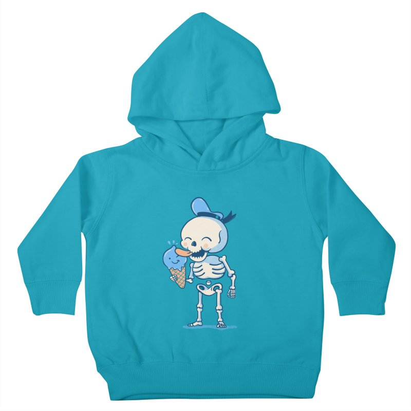 Summer Vibes Kids Toddler Pullover Hoody by Pepe Rodríguez