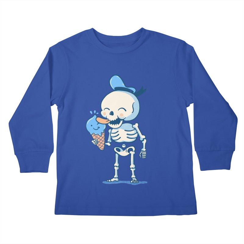 Summer Vibes Kids Longsleeve T-Shirt by Pepe Rodríguez