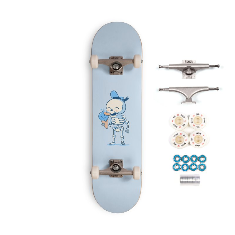 Summer Vibes Accessories Complete - Premium Skateboard by Pepe Rodríguez