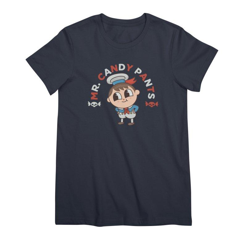 Mr Candy Pants Women's Premium T-Shirt by Pepe Rodríguez