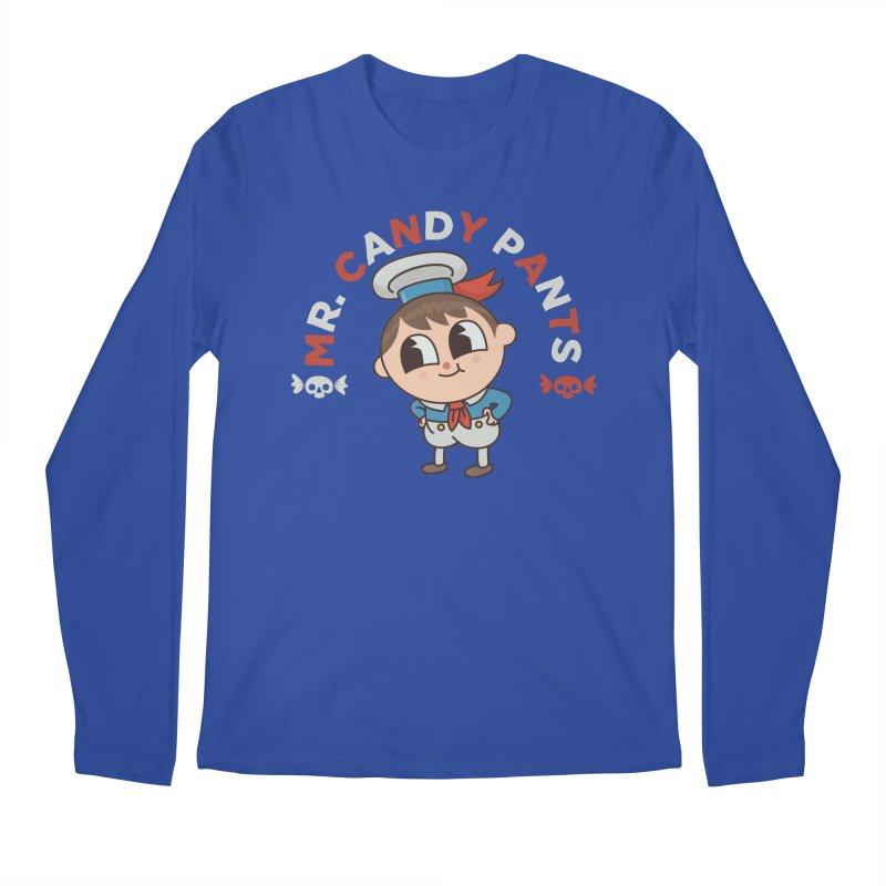 Mr Candy Pants Men's Regular Longsleeve T-Shirt by Pepe Rodríguez