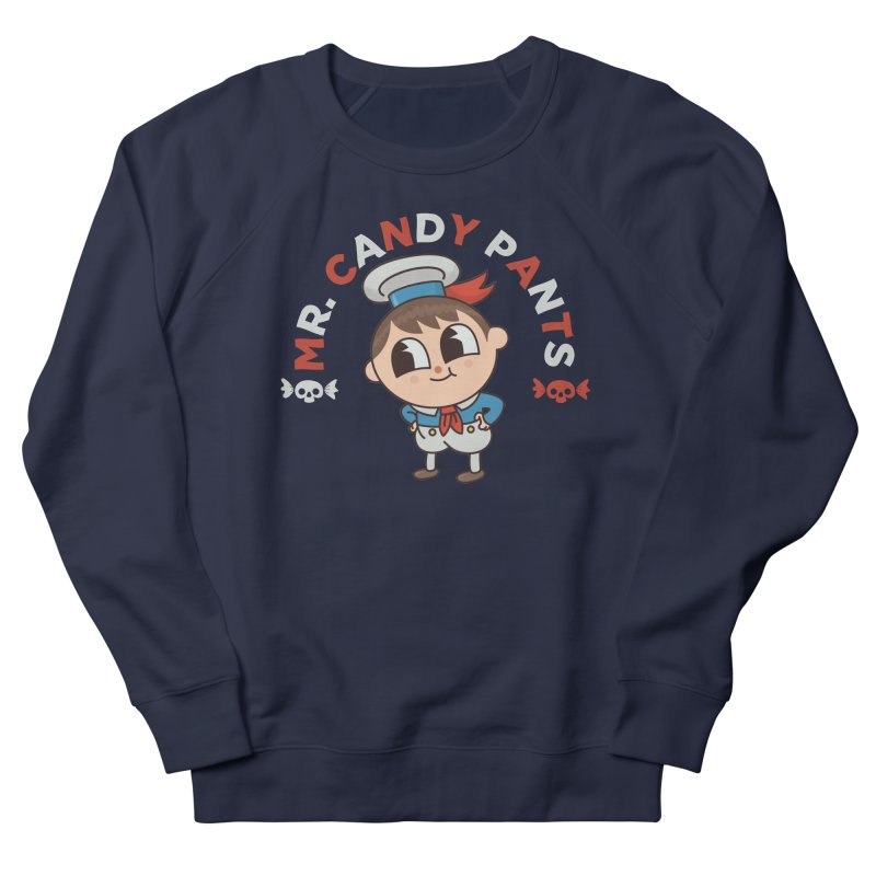 Mr Candy Pants Men's French Terry Sweatshirt by Pepe Rodríguez