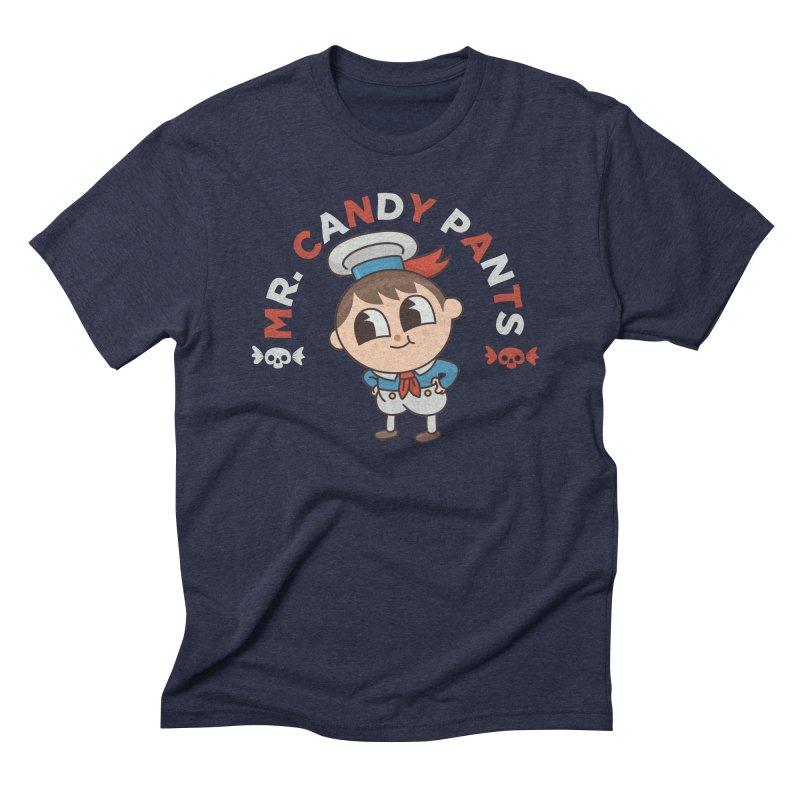 Mr Candy Pants Men's Triblend T-Shirt by Pepe Rodríguez