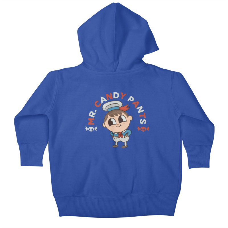 Mr Candy Pants Kids Baby Zip-Up Hoody by Pepe Rodríguez