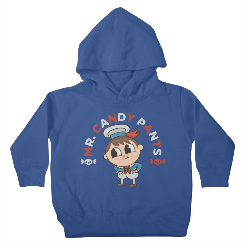 Mr Candy Pants Kids Toddler Pullover Hoody by Pepe Rodríguez