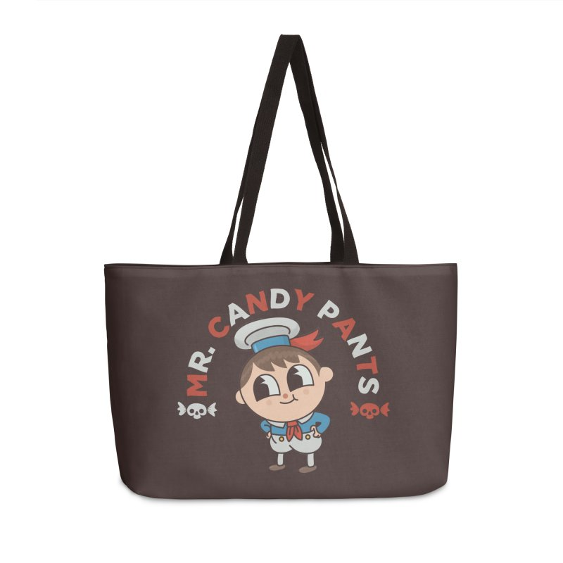 Mr Candy Pants Accessories Weekender Bag Bag by Pepe Rodríguez