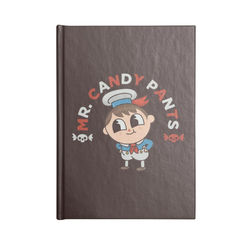 Mr Candy Pants Accessories Blank Journal Notebook by Pepe Rodríguez