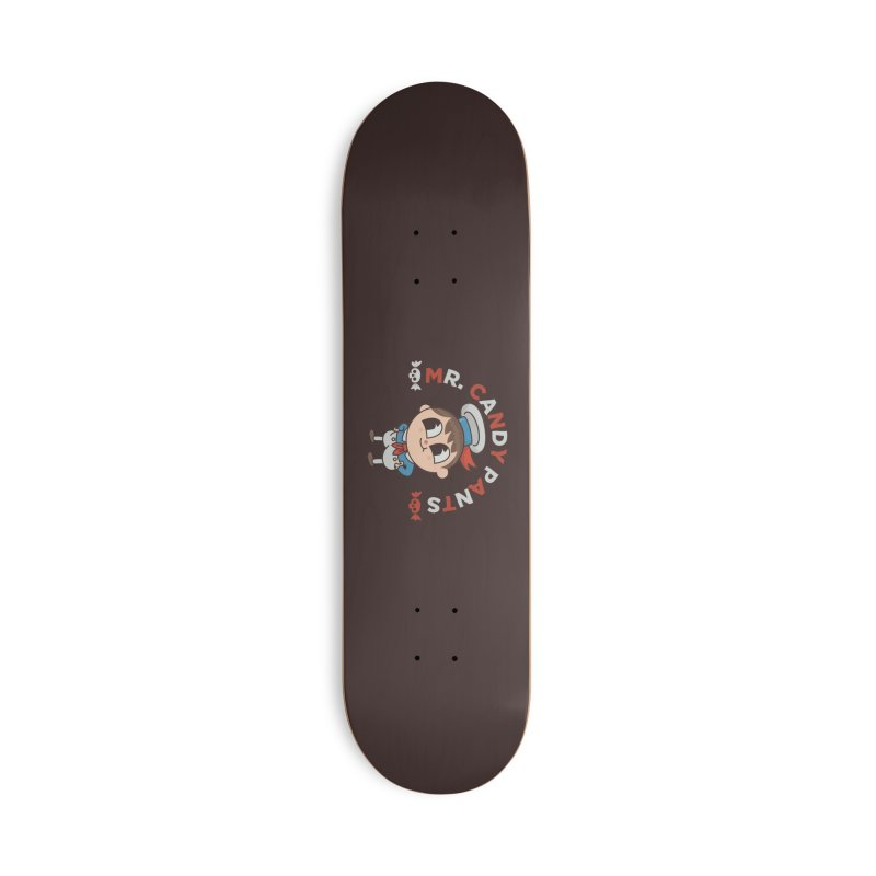 Mr Candy Pants Accessories Deck Only Skateboard by Pepe Rodríguez