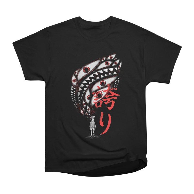 Dark Soul Women's Heavyweight Unisex T-Shirt by Pepe Rodríguez
