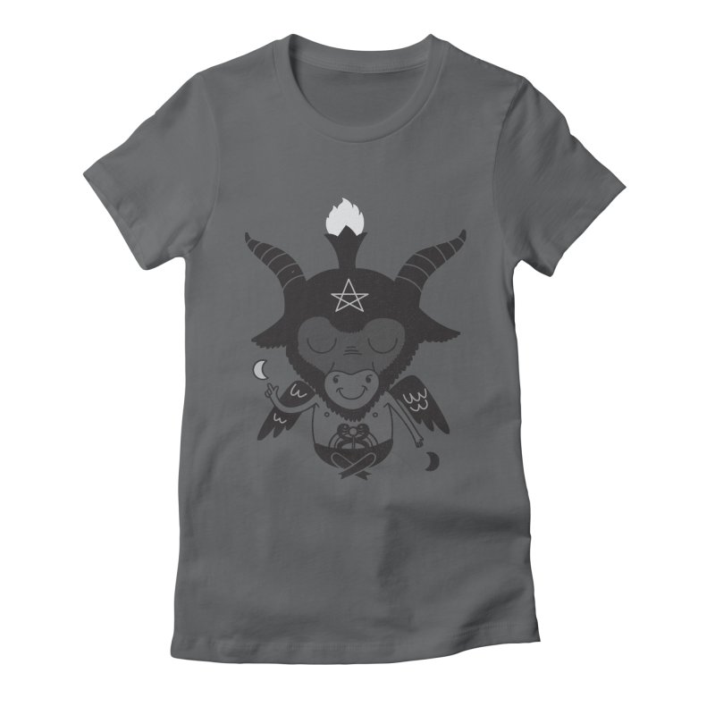Baphy Women's Fitted T-Shirt by Pepe Rodríguez