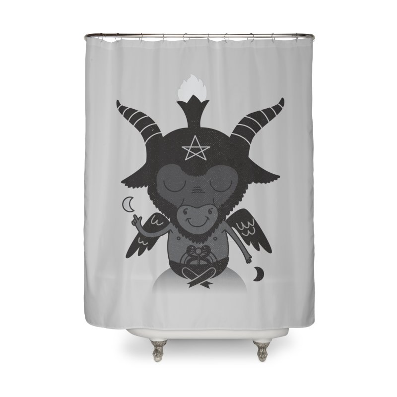 Baphy Home Shower Curtain by Pepe Rodríguez
