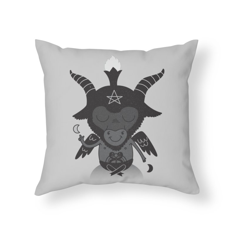 Baphy Home Throw Pillow by Pepe Rodríguez