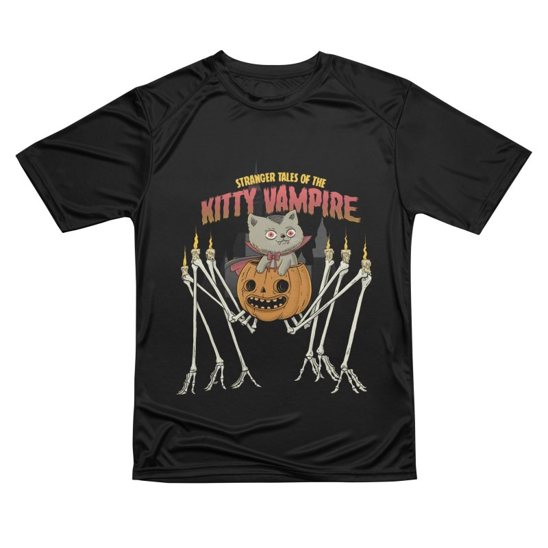 Kitty Vampire Men's Performance T-Shirt by Pepe Rodríguez