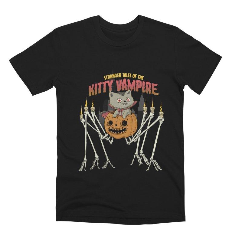Kitty Vampire Men's Premium T-Shirt by Pepe Rodríguez