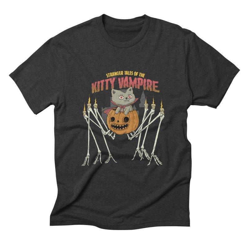 Kitty Vampire Men's Triblend T-Shirt by Pepe Rodríguez