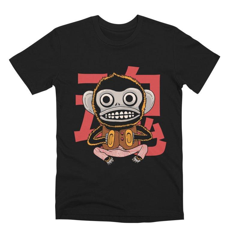 Evil Monkey Men's Premium T-Shirt by Pepe Rodríguez