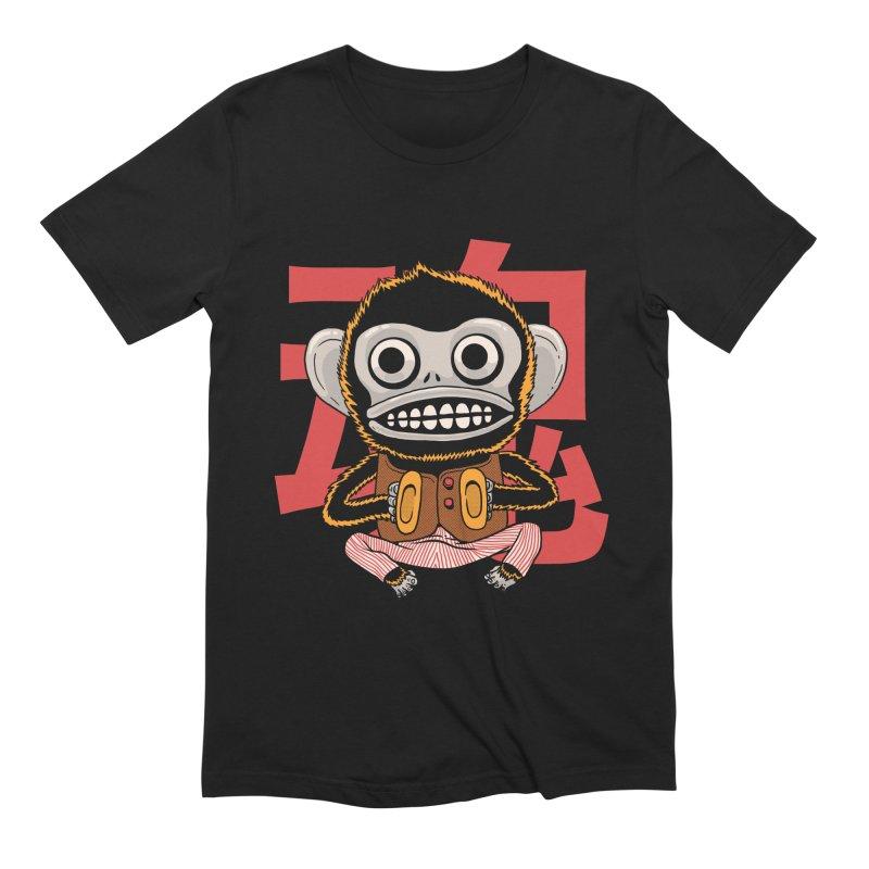 Evil Monkey Men's Extra Soft T-Shirt by Pepe Rodríguez