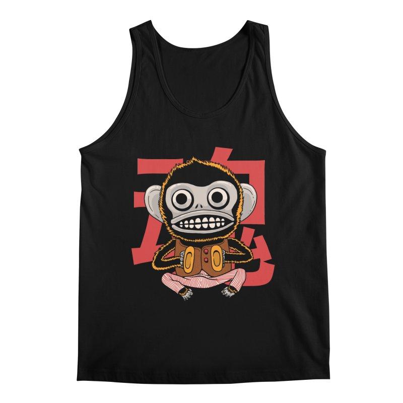 Evil Monkey Men's Regular Tank by Pepe Rodríguez