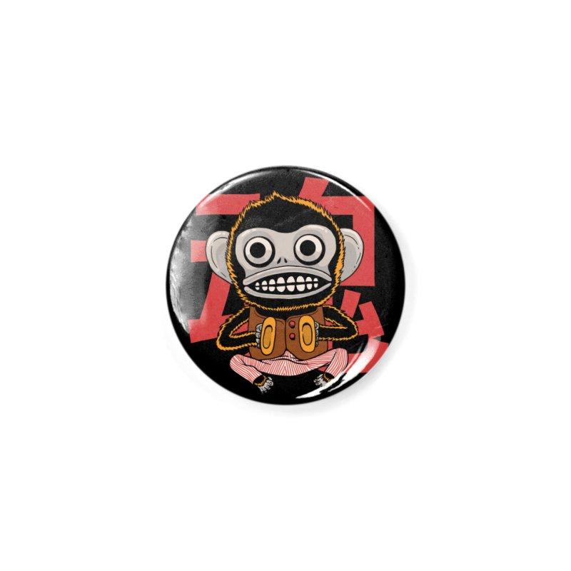 Evil Monkey Accessories Button by Pepe Rodríguez