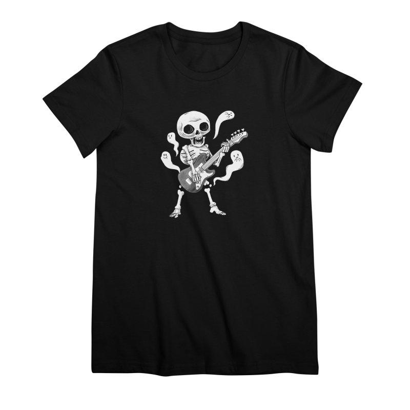 dead rock Women's Premium T-Shirt by Pepe Rodríguez