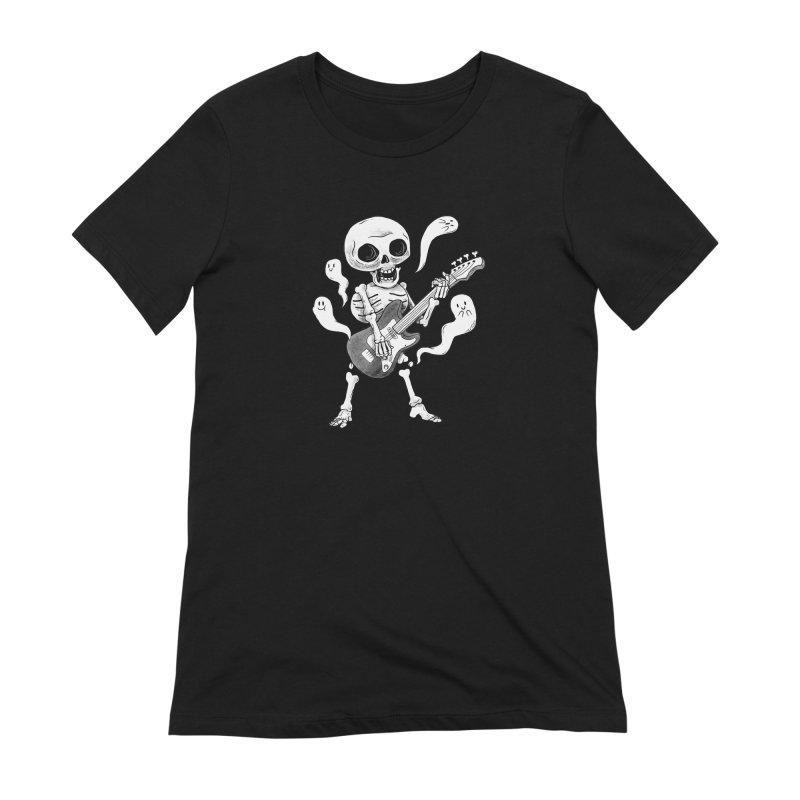 dead rock Women's Extra Soft T-Shirt by Pepe Rodríguez