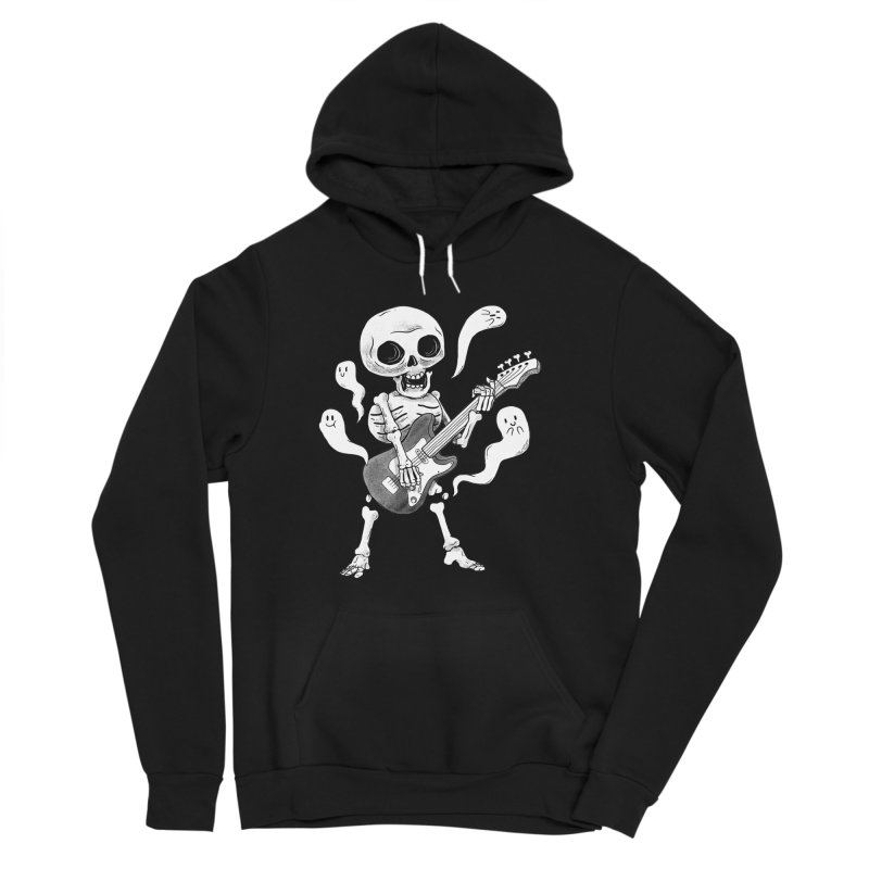 dead rock Women's Sponge Fleece Pullover Hoody by Pepe Rodríguez