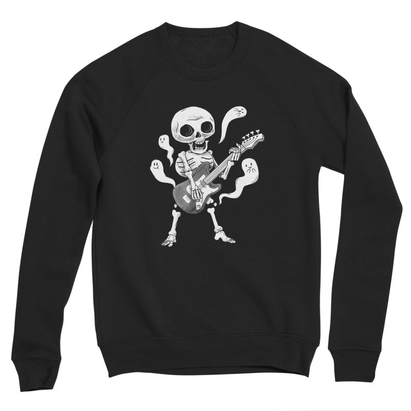 dead rock Women's Sponge Fleece Sweatshirt by Pepe Rodríguez