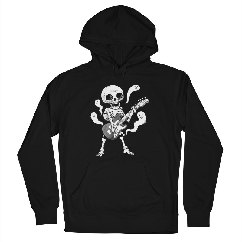 dead rock Men's French Terry Pullover Hoody by Pepe Rodríguez